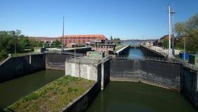 Danube River Water Lock Stock Images