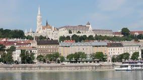 Danube riverside Fisherman bastion Royalty Free Stock Image