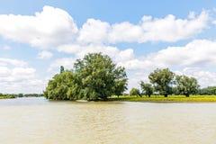 Danube riverside landscape Stock Photo