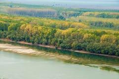 Danube rzeka Obrazy Stock