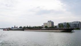 Danube rzeki barka Zdjęcie Stock