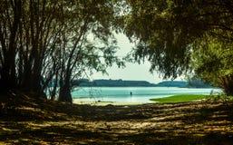 Danube's beach Stock Photo