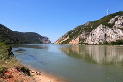 Danube in Serbia Royalty Free Stock Photos