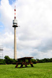 Danube tower. In Vienna, Donauturm, observation deck Royalty Free Stock Photography