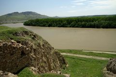 Danube at Troesmis Stock Image