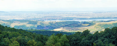Danube valley Royalty Free Stock Photo