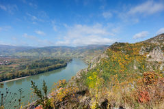 Danube Valley in Wachau; Austria Royalty Free Stock Image