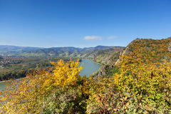 Danube Valley In Wachau; Austria Royalty Free Stock Photography