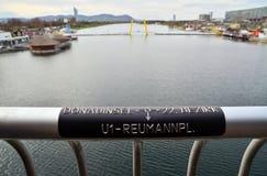 Danube in vienna Royalty Free Stock Photo