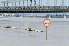 Danube w Budapest fotografia stock