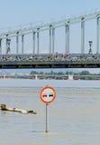 Danube w Budapest obrazy royalty free