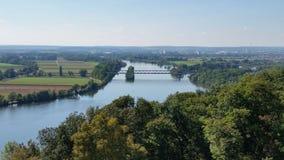 Danube walhalla Niemcy obraz stock