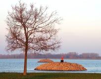 Danubian перепад Стоковая Фотография RF