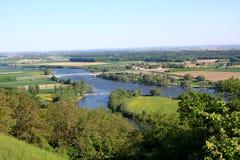 Danubio - Baviera Fotografía de archivo libre de regalías