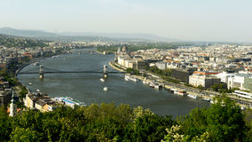 Danubio blu Immagine Stock Libera da Diritti