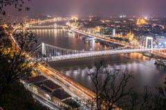 Danubio blu Immagini Stock Libere da Diritti