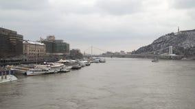Danubio a Budapest archivi video