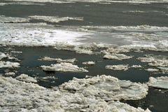 Danubio en enero Imagenes de archivo