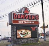 Danver ` s restauracja zdjęcie royalty free