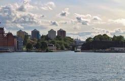 Danviksbron Royaltyfri Bild