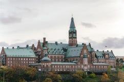 Danvikshem in Stockholm, Zweden Royalty-vrije Stock Afbeeldingen