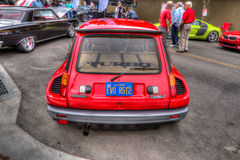 Renault turbo Danville dElegance 2014 Stock Photos
