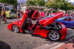 Danville-dElegance Enzo Ferrari 2014 Stockfotografie