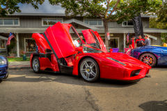 Danville-dElegance Enzo Ferrari 2014 Lizenzfreies Stockbild