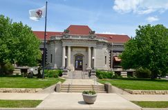 Danville Public Library Royalty Free Stock Images