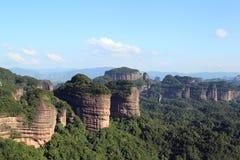 Danxia山 免版税库存照片