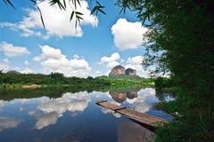 Danxia berg 1 Arkivfoto