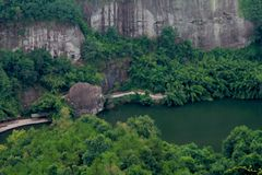 Danxia Geopark nacional fotografia de stock royalty free