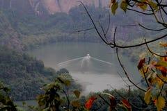 Danxia Geopark nazionale immagine stock