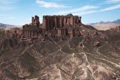 Danxia krajobraz Obrazy Royalty Free