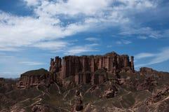 Danxia krajobraz Obrazy Stock