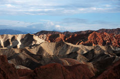 Danxia krajobraz Zdjęcie Royalty Free
