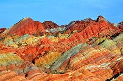 Danxia Landform Stock Images