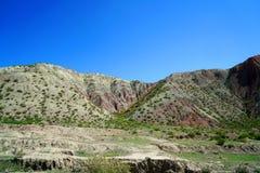 Danxia landform Arkivbilder