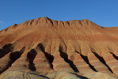 Danxia landform. It is a beautiful  danxia landform Royalty Free Stock Images