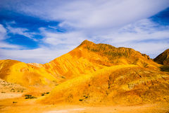 Danxia landform Royalty Free Stock Images