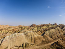 Danxia landform in China Stock Image