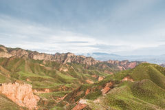 Danxia landform Stock Photo