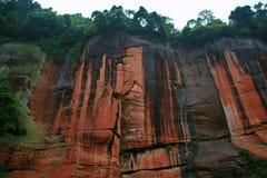 Danxia landform w Chishui Obrazy Royalty Free