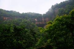 Danxia landform w Chishui Zdjęcie Royalty Free