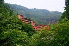 Danxia landform w Chishui Zdjęcia Stock