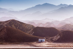Danxia landform w Zhangye Zdjęcie Royalty Free