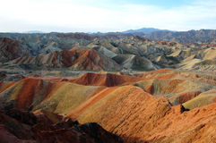Danxia landforms Stock Photography