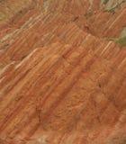 Danxia landforms tło Fotografia Stock