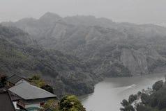 Danxia medborgare Geopark arkivbilder