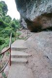 Danxia mountain. Guangzhou danxia mountain world geological park Stock Photo